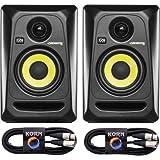 KRK RP4 ROKIT G3 BK Plug & Play 3 m Kabel Set
