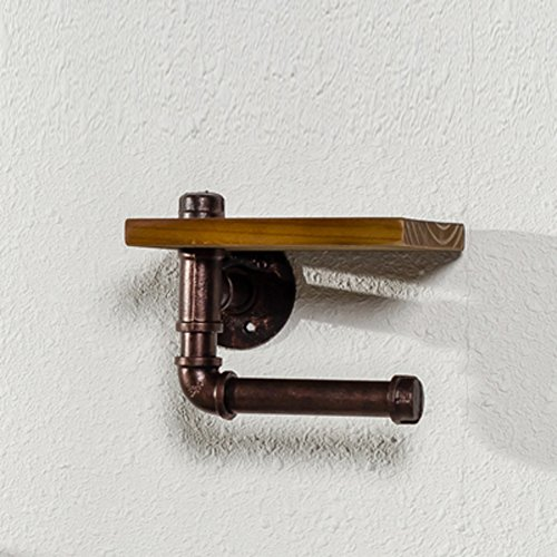 Wc-papier-halter Lufterfrischer (TY&WJ North european style Gewebe Toilettenpapierhalter Wandhalterung Gewebe-halter Seidenpapier roll Dispenser Handtuchhalter, bügel Badezimmer Loch stanzen-H 20x15x14cm(8x6x6inch))