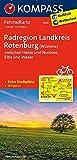 Radregion Landkreis Rotenburg (Wümme) zwischen Heide und Nordsee, Elbe und Weser: Fahrradkarte. GPS-genau. 1:70000 (KOMPASS-Fahrradkarten Deutschland, Band 3010)