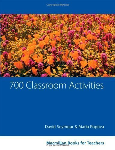 700 Classroom Activities of Seymour, D. on 07 April 2005