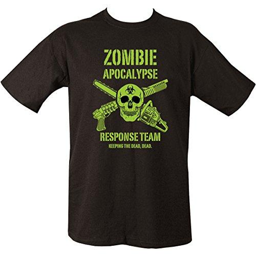 Kombat UK Herren Zombie Apocalypse T-Shirt, schwarz, -