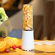 LJHA Juicer portátil hogar multifunción automático de frutas y verduras taza de jugo 3 colores opcionales 265 * 76 * 76mm Licuadora ( Color : B )
