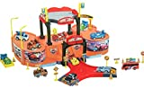 #8: VSHINE Cars Parking Garage Series II with Cars, Bus and complete track setup