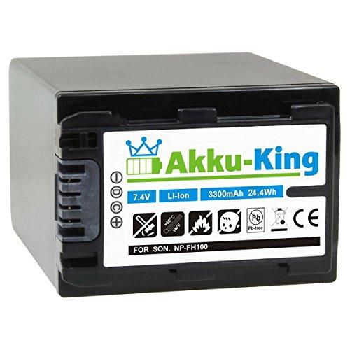AKKU KING 5379829 IONES DE LITIO 3300MAH 7 4V BATERIA RECARGABLE   BATERIA/PILA RECARGABLE (IONES DE LITIO  3300 MAH  VIDEOCAMARA DIGITAL  7 4 V  24 4 WH  NEGRO)