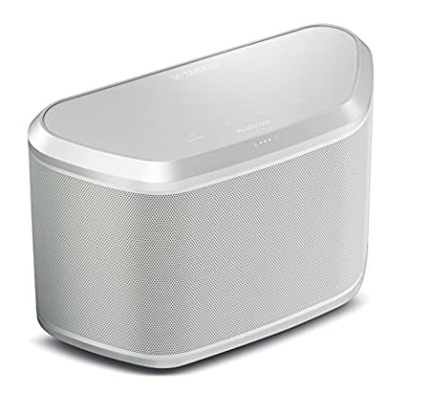 Yamaha WX030 MusicCast Wireless Speaker with Bluetooth & Airplay - White