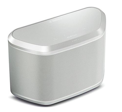 Yamaha WX- 030 - Altavoz de streaming con conexión Bluetooth, color blanco