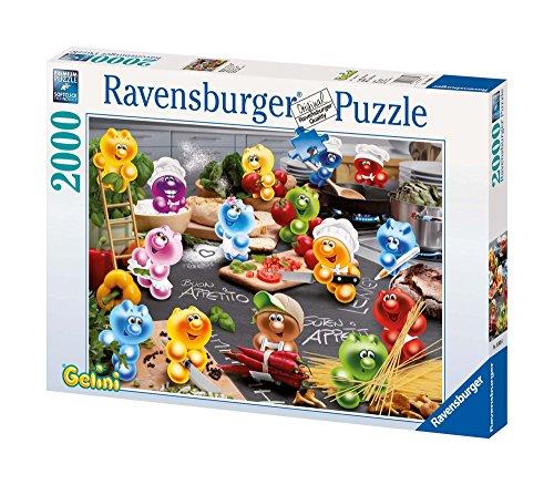 Ravensburger 16608 Gelini : La passione della cucina- Puzzle dal 2.000 pezzi
