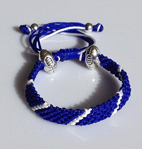 hecho-a-mano-rugby-cuerda-pulseras-scotland
