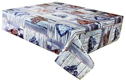 3metros (300cm x 137cm) mantel de vinilo, Corazones de Pebble y madera...