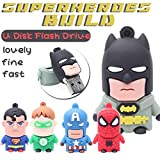 ARBUYSHOP Cartoon USB Flash Drive The Avengers Pendrive Geschenk Pen Drive Batman Superman USB Stick Amerika capatain USB-Flash-Green Lantern