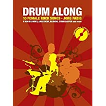 Drum Along 10 Female Rock Song + CD