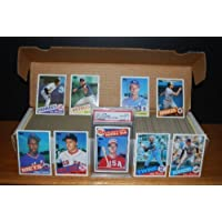 1985 Topps Baseball Complete Set (McGwire Rookie, Clemens Rookie, Puckett Rookie, Gooden Rookie) by Topps