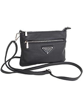 Jennifer Jones Taschen Damen Damentasche Handtasche Schultertasche Umhängetasche Tasche klein Crossbody Bag XS...