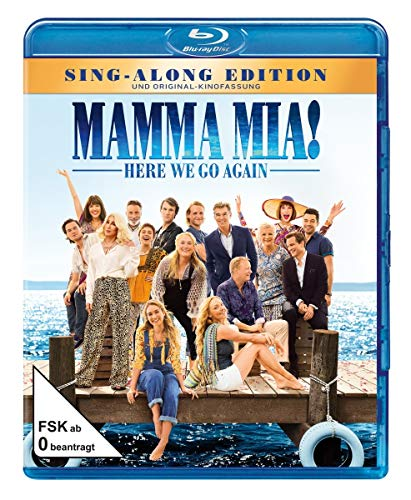 Produktbild Mamma Mia! Here We Go Again [Blu-ray]