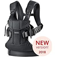 BABYBJÖRN Baby Carrier One Air, 3D Mesh, Black, 2018 Edition