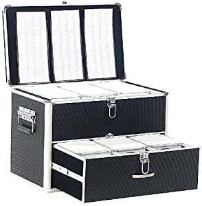 coffre de rangement professionnel 1000 cd dvd cuisine maison. Black Bedroom Furniture Sets. Home Design Ideas