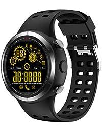 Chenang EX32 Intelligente Uhr, Information Erinnerung Smartwatch Wasserdicht IP67 mit Pulsmesser Schlafmonitor Fitnessarmband Schrittzähler Wasserdicht Smart Watch