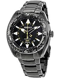 Seiko Herren-Armbanduhr Prospex Land Kinetic Analog Quarz Edelstahl beschichtet SUN047P1