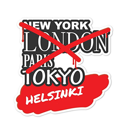 Preisvergleich Produktbild JOllify Aufkleber - HELSINKI – Farbe: Design: Graffiti Streetart New York
