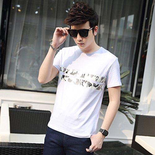 MTTROLI Herren T-Shirt Weiß