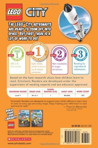 Lego City: 3, 2, 1 Liftoff! (Scholastic Readers: Lego)