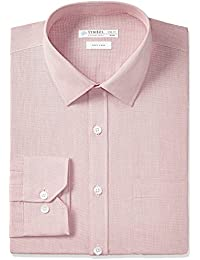 Symbol Amazon Brand Men's Formal Fil a Fil Regular Fit Shirt