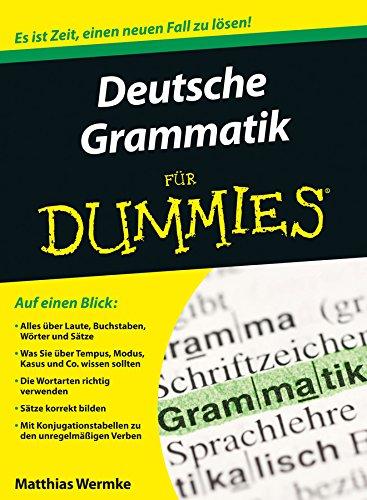 Deutsche Grammatik für Dummies Allgemeine Grammatik