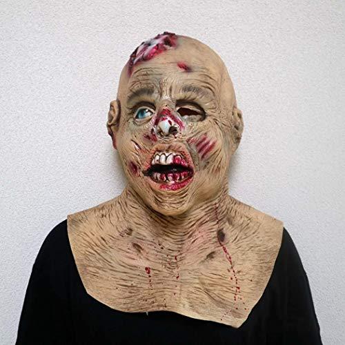 ie-Latex-Maske Resident Bösen Terror Vampire Maske,Photocolor,Onesize ()