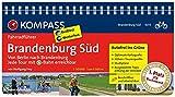 Brandenburg Süd, Von Berlin nach Brandenburg: Fahrradführer mit Routenkarten im optimalen Maßstab. (KOMPASS-Fahrradführer, Band 6013)
