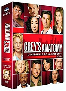 Grey's Anatomy , Saison 4 - Coffret 5 DVD (B001D6OKYC) | Amazon price tracker / tracking, Amazon price history charts, Amazon price watches, Amazon price drop alerts
