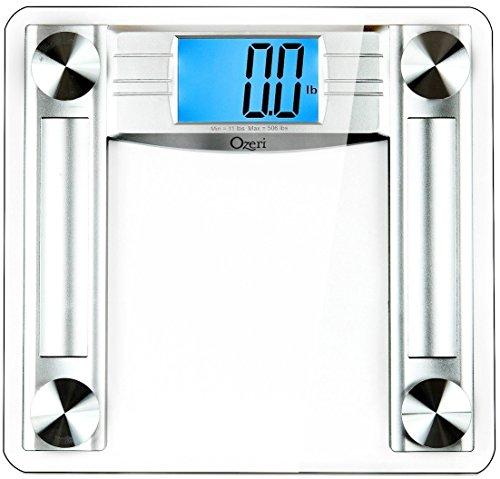 La nueva báscula digital de baño Ozeri ProMax 230 kg cuenta con la mayor capacidad de pesado para los usos más exigentes. Equipada con tecnología de calibración automática que facilita el seguimiento de su peso desde el primer momento, y con activaci...