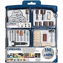 Dremel S724 JA - Kit de 150 accesorios variados