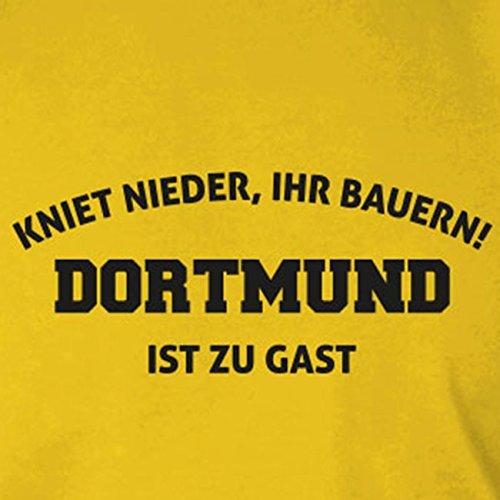 Kniet nieder Dortmund - Stofftasche / Beutel Oliv