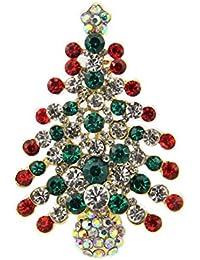 Viskey Weihnachtsdeko, ., Christmas Tree Brooch