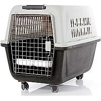 Transportín para perros y gatos homologado para usar en viajes por la IATA (Asociación Internacional