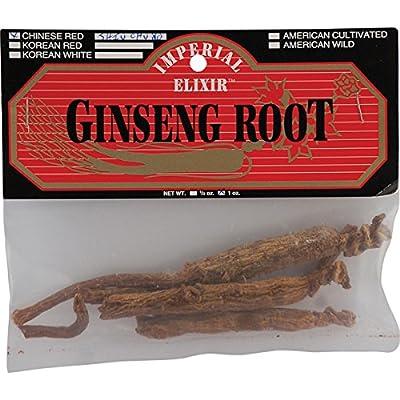 Ginseng Root, Chinese Red Shiu Chu Xu, 1 oz from Imperial Elixir