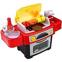 Peradix Barbecue Giocattolo Con Suono e Luce Cucina Giochi Esterno Interno