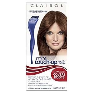 Nice'n Easy Root Touch Up Permanent Hair Dye - Dark Auburn/Reddish Brown 4R