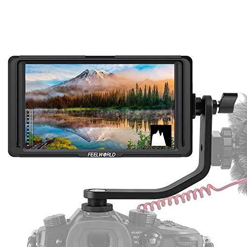 2b928408a0c8e FEELWORLD F5 5 Inch Monitor w Tilt Arm IPS Full HD 4K HDMI In