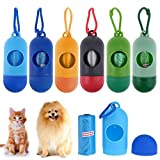 3 Pieces Dog Poop Bags Cute Pet Garbage Dispenser with Waste Bag Color Random Suitable for Small and Big Doggy Wastes Portable Environment Friendly, Avoiding Pbarrassment.