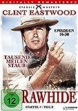Rawhide Tausend Meilen Staub - Season 4.2 (4 DVDs)
