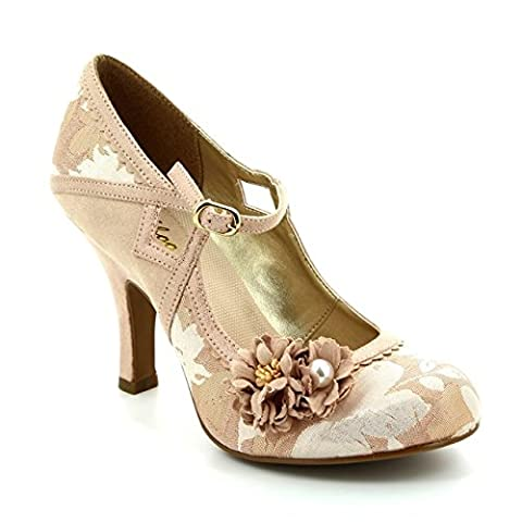 YASMIN (Rose Gold) by Ruby Shoo - Size