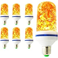 Simuliert Flammenlampe Feuer Brennen Dekor Sicherheit Campings Laterne LED