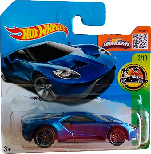 Hot Wheels '17 Ford GT - Exotics 2016 73/250 (Short Card)