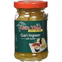 Lien Ying Gari Rebanadas de Jengibre Agridulce - Paquete de 6 x 100 gr - Total: 600 gr
