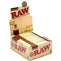 Raw King Size Slim Organic Hemp Papers 50 Pack