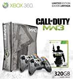Xbox 360 Slim MW3 Limited Edition 320GB inkl. 2 Controller