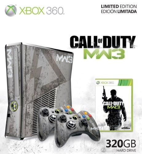 Xbox 360 Slim MW3 Limited Edition 320GB inkl. 2 Controller