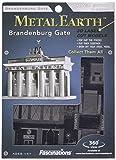 Fascinations Metal Earth MMS025 - 502550, Brandenburger Tor, Konstruktionsspielzeug, 2 Metallplatinen, ab 14 Jahren