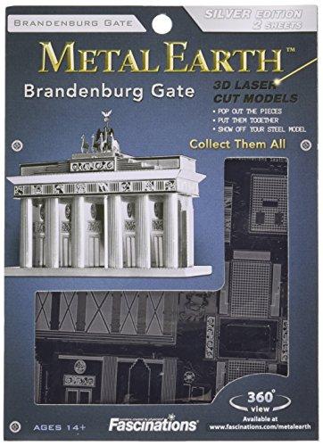 Metal Earth MMS025 - Fascinations, Brandenburger Tor, Konstruktionsspielzeug